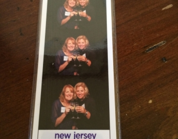 Here's a picture of the fun Shutterbooth takeaway from our Best of NJ event. That's me with Maureen Hennessey, our associate publisher.